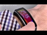 Samsung Gear Fit - умный фитнес-браслет