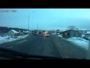 Дерзкая разборка на дороге
