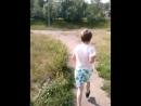 13.08 - утренняя пробежка с детьми