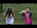 We Are Number One but it's performed by Trumpet Boy