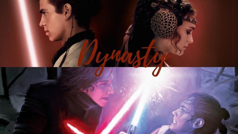 Kylo Ren Rey and Anidala || Dynasty