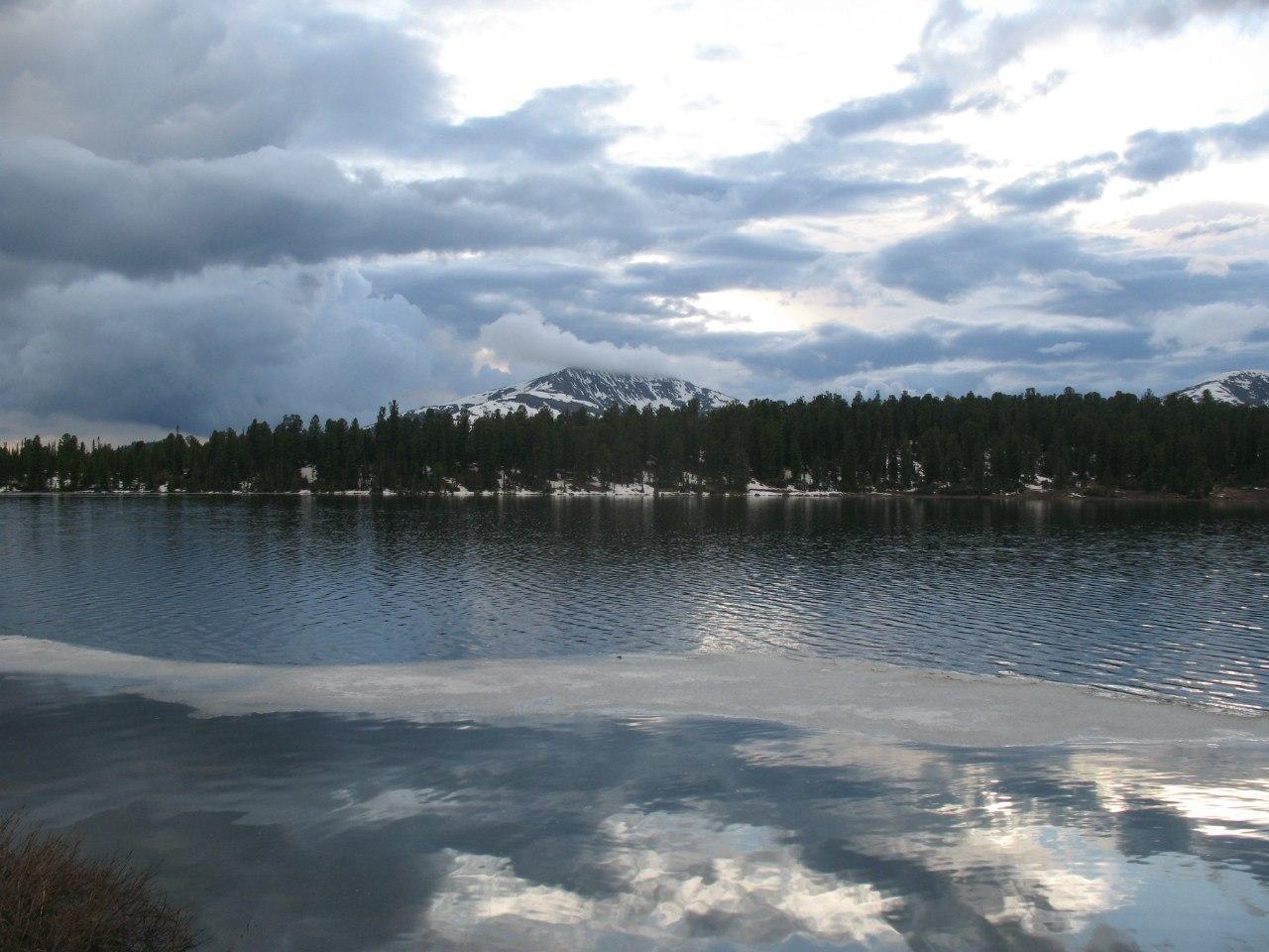 Вечер на озере Светлом