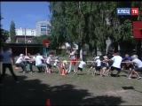 В детском саду № 40 прошёл праздник «Лето. Спорт. Здоровье»: в весёлых эстафетах