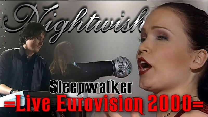 Nightwish - Sleepwalker Live In Eurovision (2000) 4K Remastered With A.I Software.