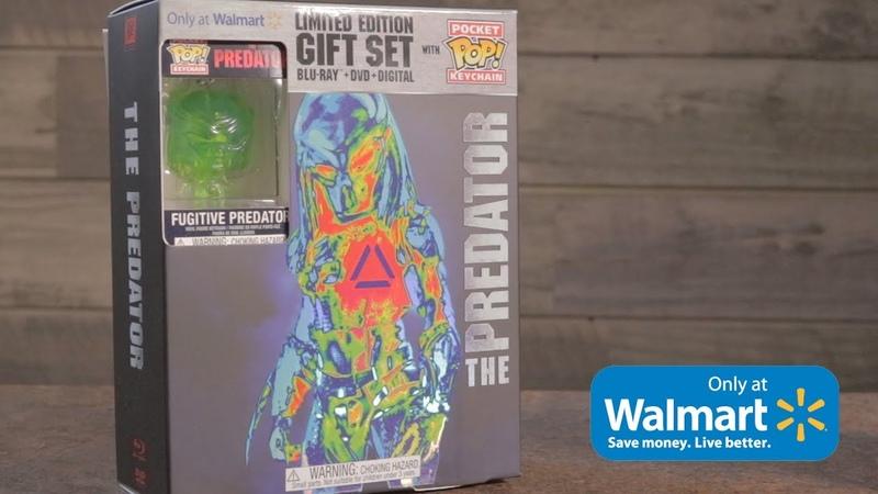 Walmart Exclusive Predator Pocket Pop! Keychain and DVD Unboxing!