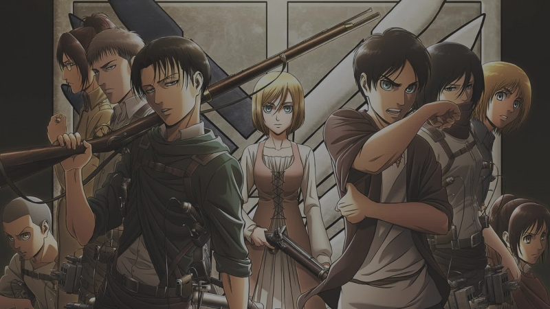 Марафон: Shingeki no Kyojin, первый сезон, с 1 по 5 серию (Blu-ray 1080)