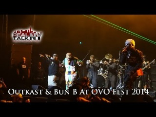 Outkast и Bun B исполняют «International Players Anthem» на «OVO Fest»