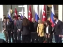 ВИДЕО Эрдоган «увел» девушку у Путина во время фотосессии в Анкаре 03 04 2018