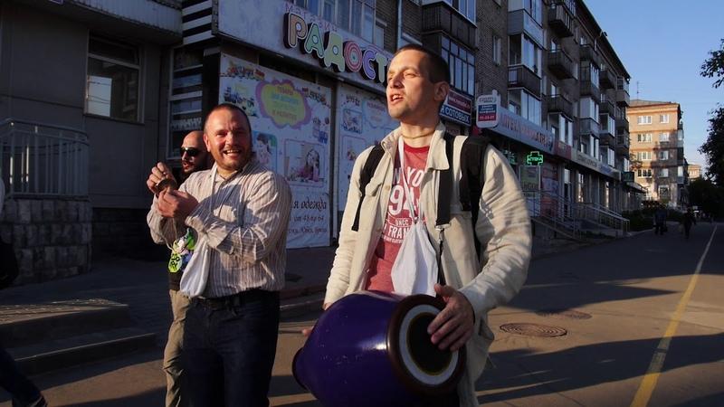 Харинама объединения Санкиртана в Ижевске