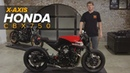 X Axis Honda CBX750 Custom Motorcycle Build