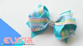 Laço Anita 🎀 Ribbon Bow 🎀 DIY by Elysia Handmade