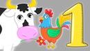 СБОРНИК песен и мультиков про животных Звуки голоса животных Развивающие мультфильмы для детей