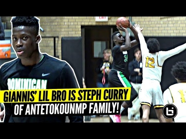 Giannis Lil Bro Alex Is The STEPH CURRY of The Antetokounmpo Family