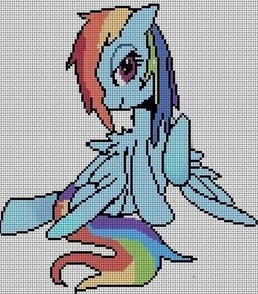вот первая схема пони