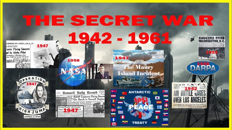 The Secret war: Antarctica Peace Treaty, Unseen Images!