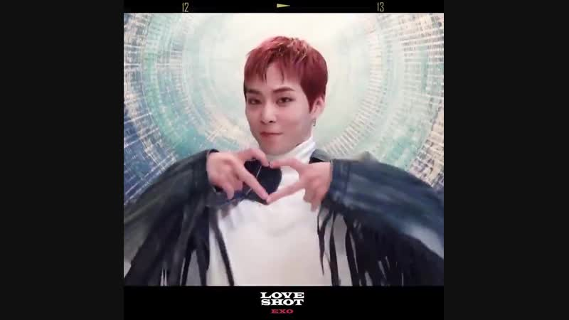EXO 정규 5집 리패키지 'LOVE SHOT' 내일 오후 6시!_- 엑소_러브샷_조준완료headphones_ 2018.12.13. 6PM (KST)__- 어디 ( 720 X 720 ).mp4