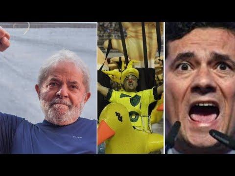 Aprovação do Moro despenca e ministro do STF afirma que prisão do Lula é ilegal. Golpe fazendo água.