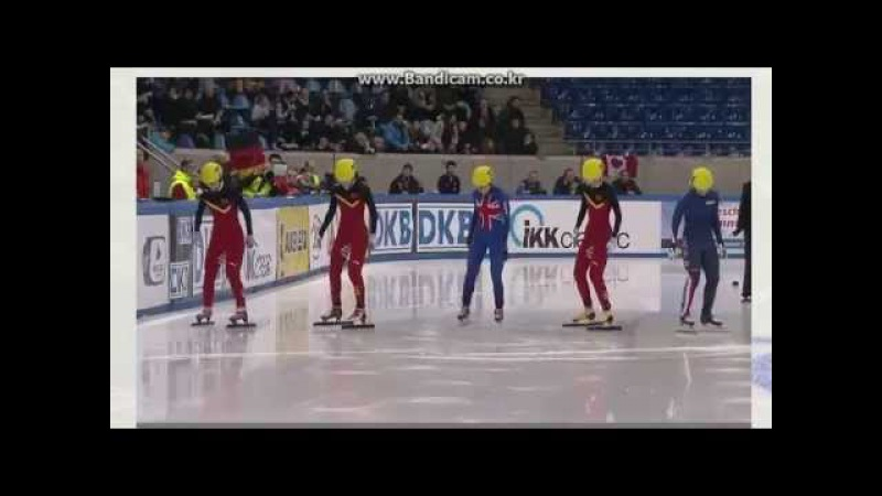 2014/2015 Short Track World Cup5 Women's 500m Final A