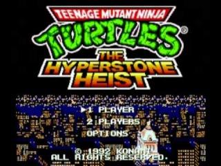 Teenage Mutant Ninja Turtles - The Hyperstone Heist (Genesis/MegaDrive) Music - Scene 1 New York City Part 1