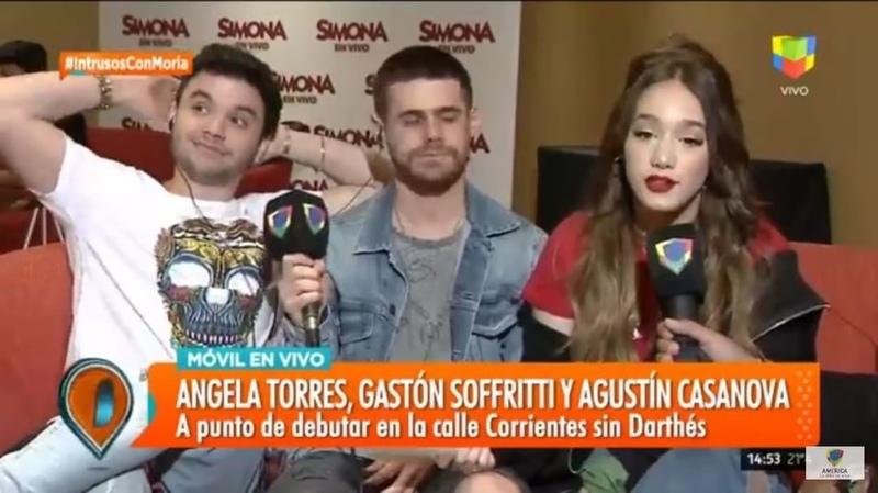 """.Tiff - Prensa Comunicación on Instagram: """"Felices anunciamos más funciones y la súper gira 🤩 simona simonaenvivo @angelitatorresok @agustincas..."""