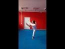 Григорий Милованов хук ногой по теннисному мячу