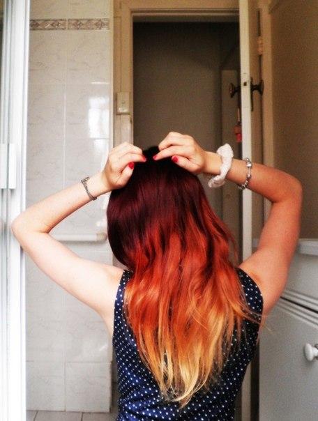 Как сделать волос рыжим в домашних условиях