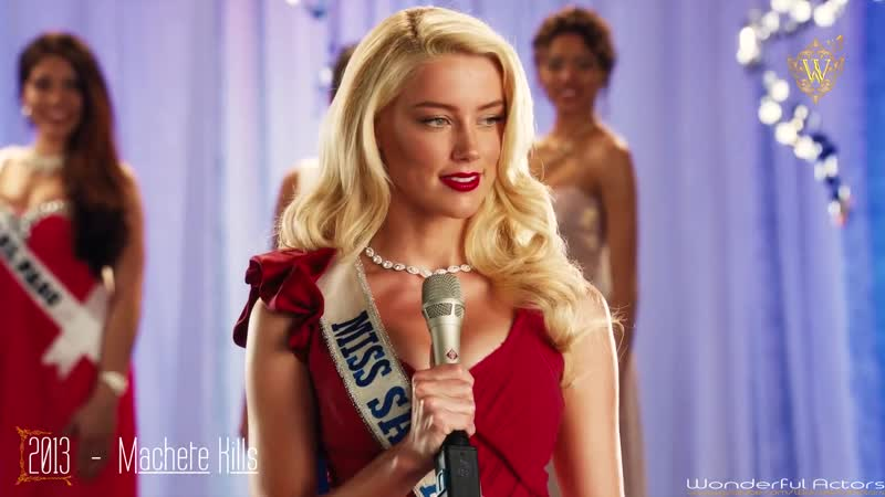 Amber Heard Filmography Through the years Before and Now