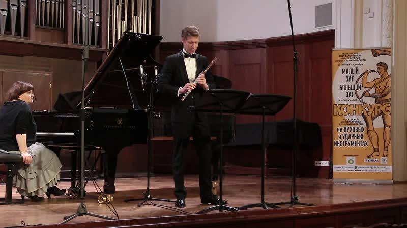 Старшинов Максим Пантомима для флейты соло