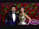 Shilpa Shetty Arrives With Husband Raj Kundra At Deepika Ranveer Mumbai Receptio