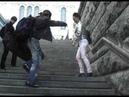 Степ на улице Москвы Импровизация Танец Чечетка Moscow Street Tap Jam