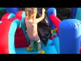 Бен и Холли и СУПЕР новый БАТУТ Игры Для Девочек МАЛЕНЬКОЕ КОРОЛЕВСТВО Бена и Холи игрушки holly