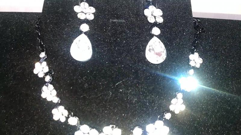 Сверкающий Комплект цвет Кристалл 600 руб