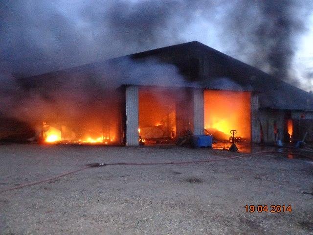 пожар под Таганрогом