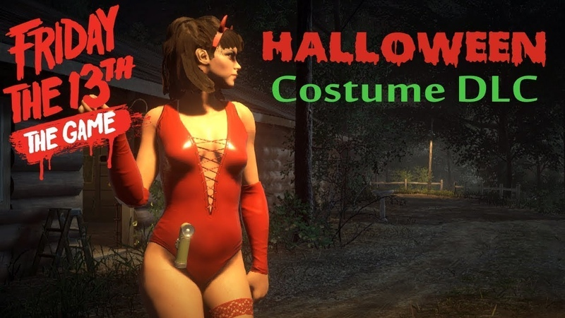 Friday the 13th the game|Halloween pack|16