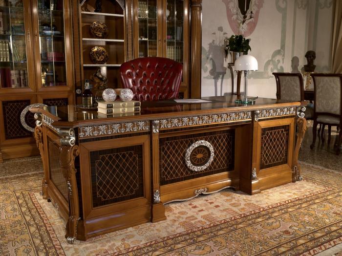 Кабинет классика, классический стиль кабинета