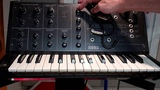 1978 Korg MS-10 monophonic synthesizer demo