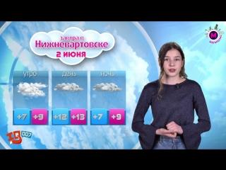 Прогноз погоды мегаKIDS на 2 июня Асылгареева Алиса