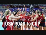 USA Road To CUP at the Womens Volleyball Nations League 2018 (Full HD)