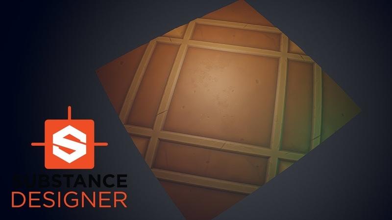 Substance Designer - Stylized Tile Floor