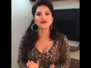 Sunny Leone thanking fans for 5 million Instagram followers