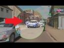 Tour des Flandres: Sébastien Chavanel et la voiture FDJ accidentés !
