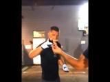 Nate Diaz training