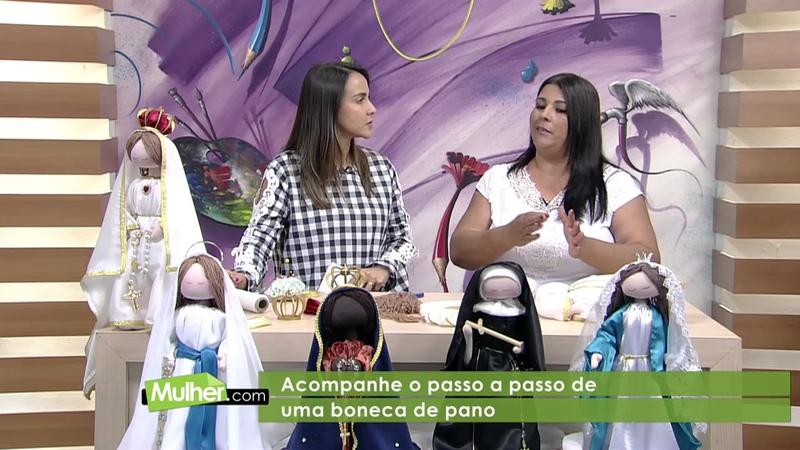 Boneca de Pano por Silvia Torres - 22/04/2017 - Mulher.com - P2/2