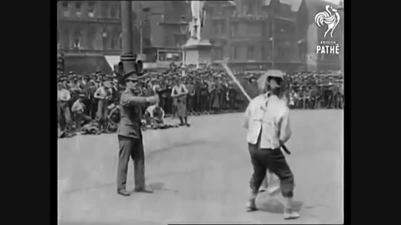 1914-18 Bayonet Fencing Exhibition - Great Britian