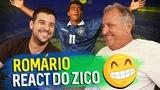 ZICO REAGE AOS LANCES DO ROM