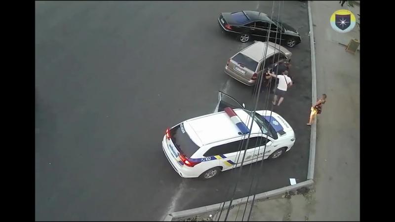 Маски-шоу в Украинской полиции