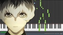 Asphyxia Tokyo Ghoul re トーキョーグール:re Opening Piano Synthesia