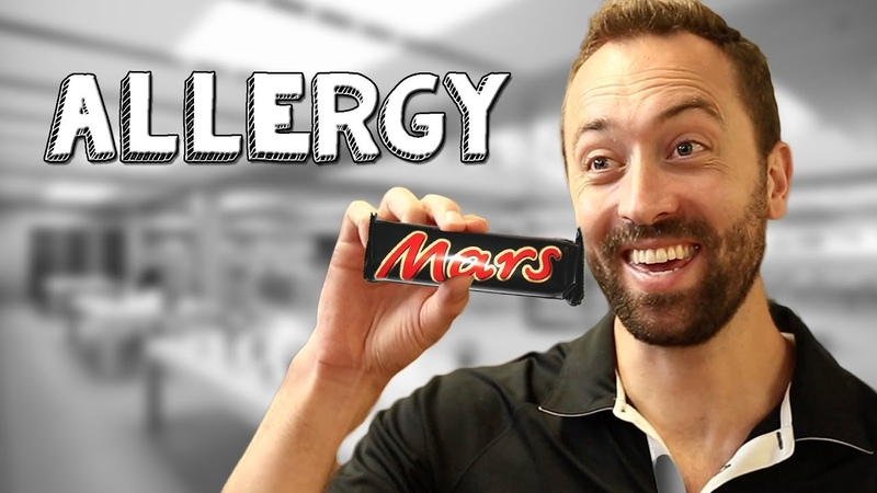 Allergy - Bored Ep 143 (When a co-worker has a severe food allergy   Viva La Dirt League (VLDL)