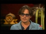 Johnny Depp interview with Larry King (1)