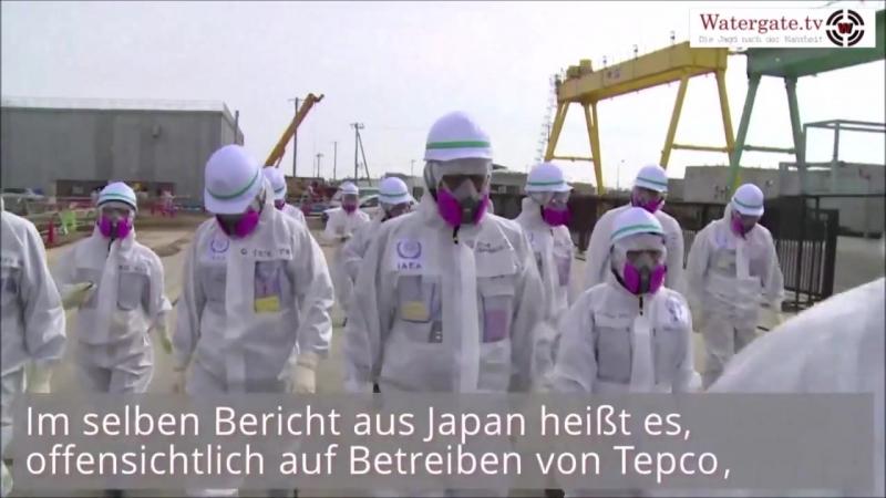 UNFASSBAR: Fukushima - DER NÄCHSTE SKANDAL - der Wahnsinn geht immer weiter - wieviel Wasser wird weltweit verseucht sein - wie